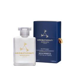 Support Lavender & Peppermint Bath & Shower Oil, , large