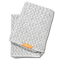 Aquis Hair Towel Lisse Luxe - Chevron, CHEVRON, large