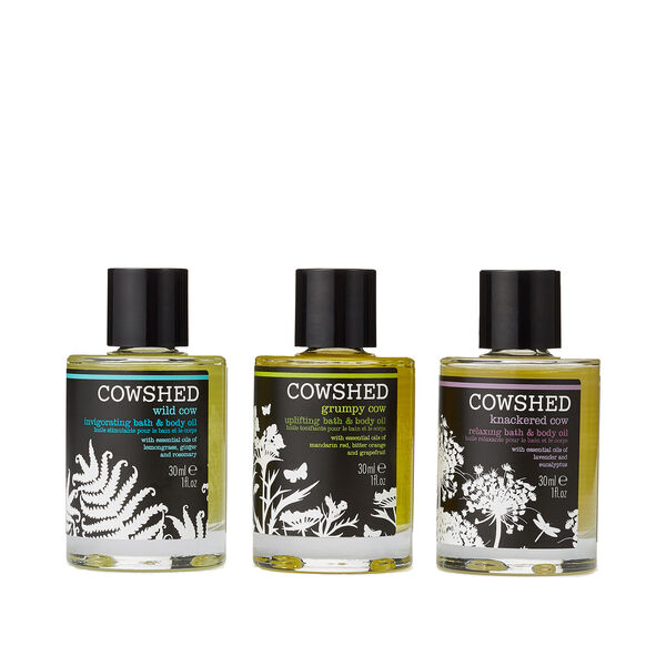 Reviving Bath & Body Oil Trio, , large