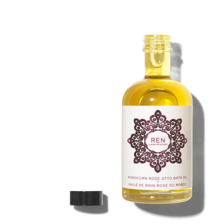 Moroccan Rose Otto Bath Oil, , large