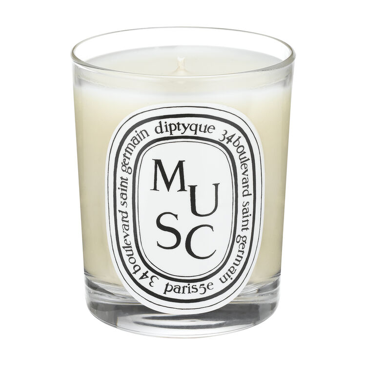 Musc Scented Candle 190g, , large