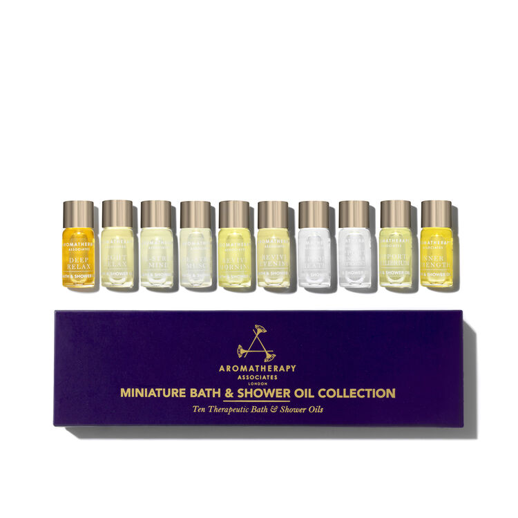10 Miniature Bath & Shower Oil Collection, , large