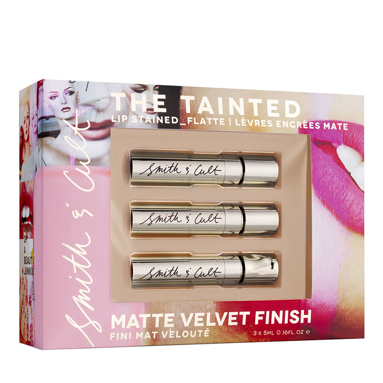 The Tainted Lip Stain Trio, , large