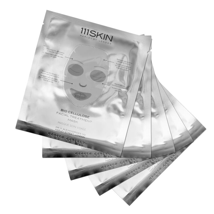 Bio Cellulose Facial Treatment Mask, , large