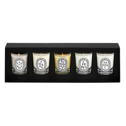 Winter Set of 5 Mini Candles, , large