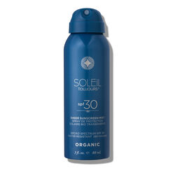 Organic Sheer Sunscreen Mist SPF 30 Travel Size, , large
