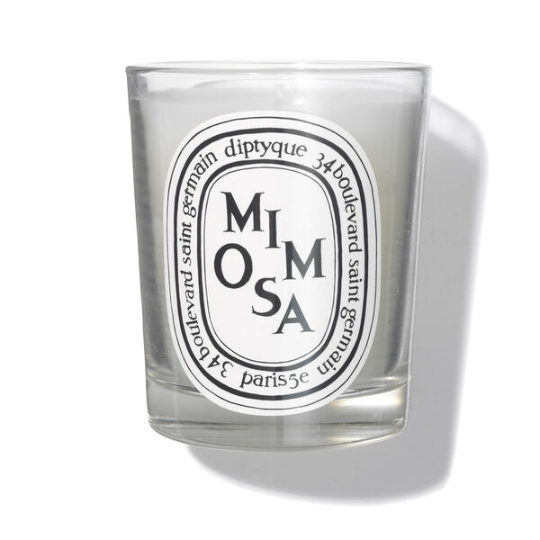 Mimosa Scented Candle 190g, , large