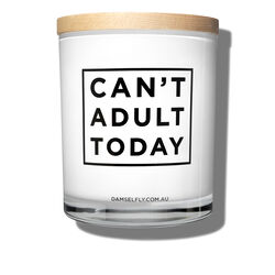 Can't Adult Today Candle, , large