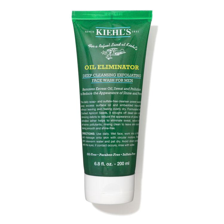 Oil Eliminator Deep Cleansing Exfoliating Face Wash for Men, , large