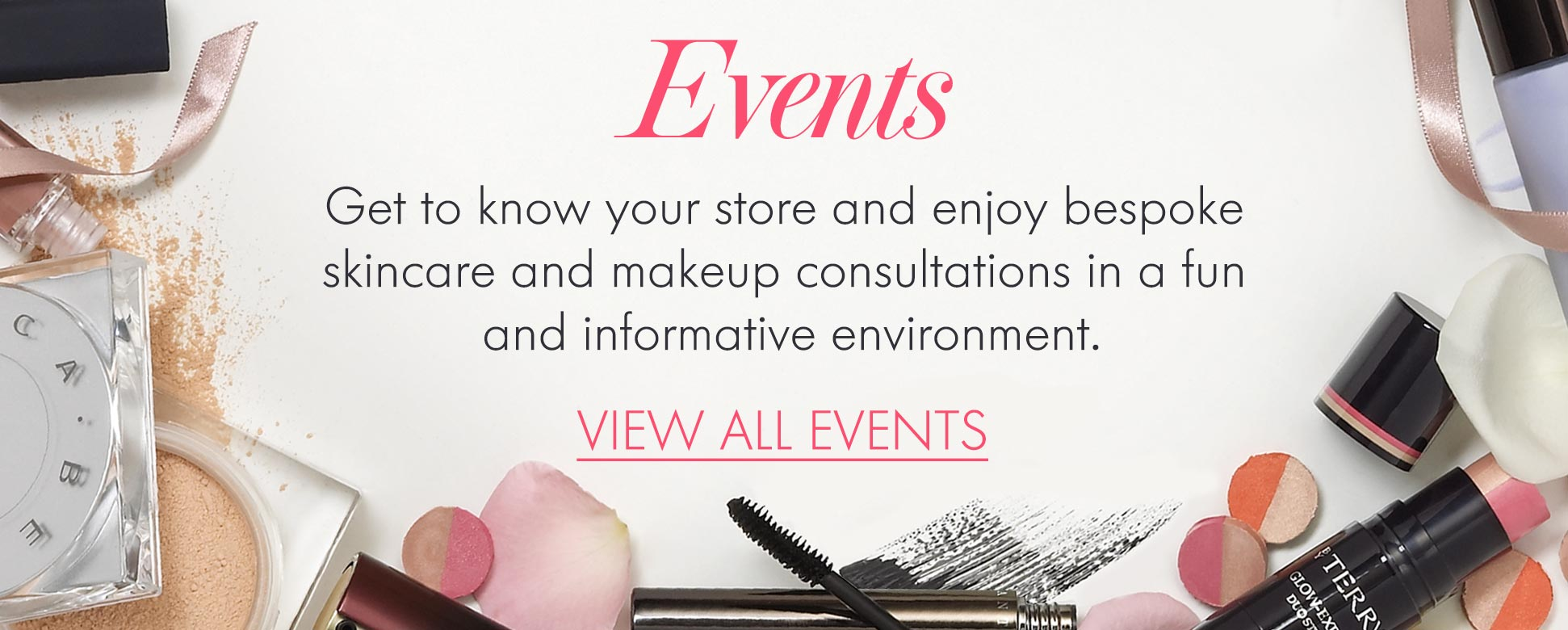 Space NK Events