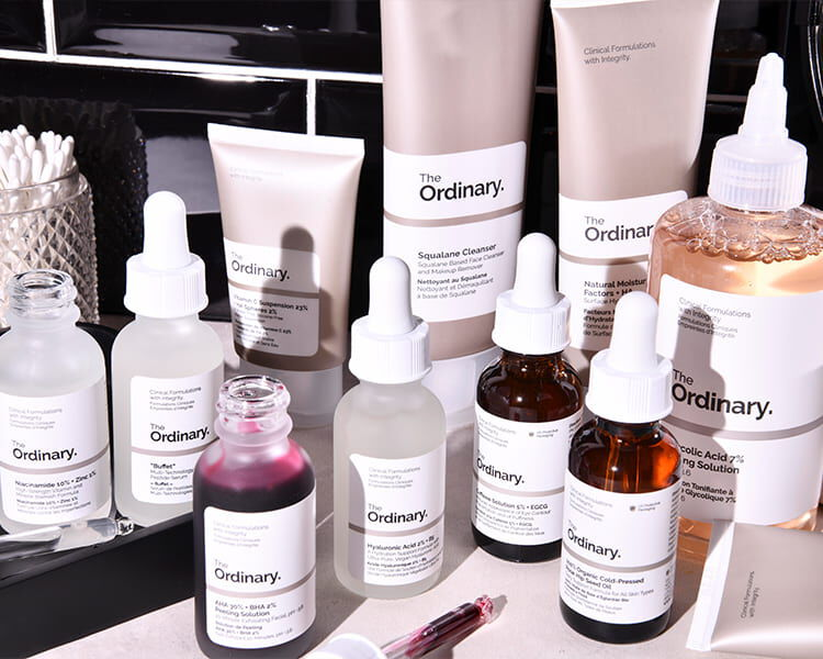 Buy two and enjoy a full-sized gift from The Ordinary