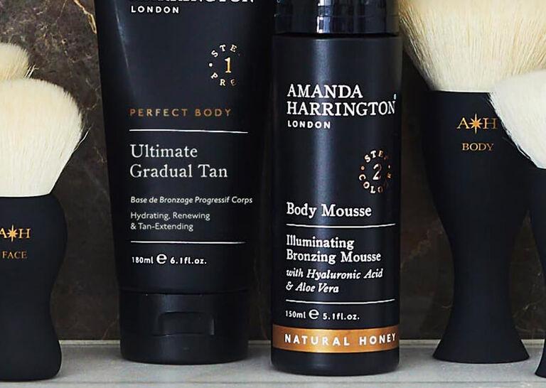 Faux The Glow With Amanda Harrington London's Brush On Tan
