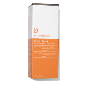Ferulic + Retinol Fortifying Neck Emulsion, , large
