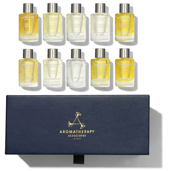Ultimate Wellbeing Bath & Shower Oil Collection, , large