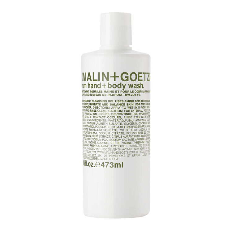 Rum Hand and Body Wash, , large