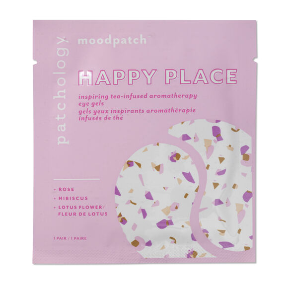 """Moodpatch """"Happy Place"""" Inspiring Tea-Infused Aromatherapy Eye Gels, , large, image2"""