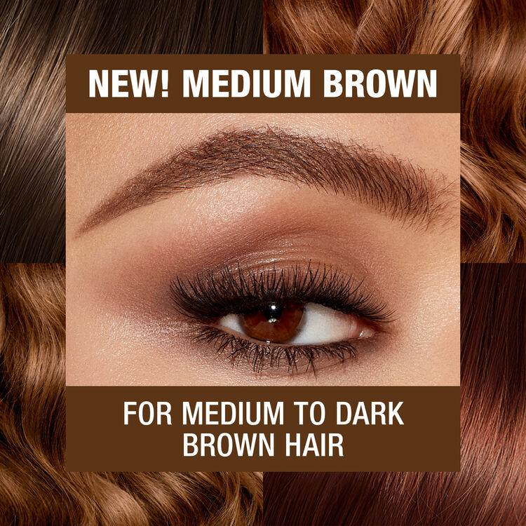 Brow Cheat Refill, MEDIUM BROWN, large