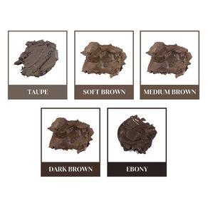 No Fade Brow Kit, DARK BROWN 9.5 G, large