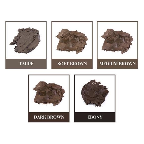 No Fade Brow Kit, DARK BROWN 9.5 G, large, image6