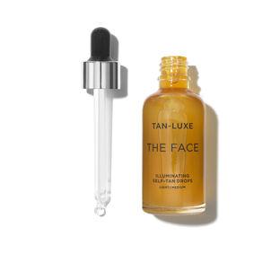 The Face Illuminating Tan Drops, LIGHT/MEDIUM 30ML, large