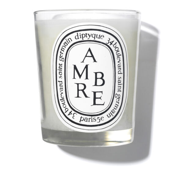 Amber Scented Candle 190g, , large, image_1
