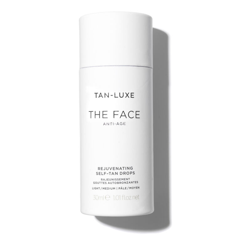 The Face Anti-Age Tan Drops, , large