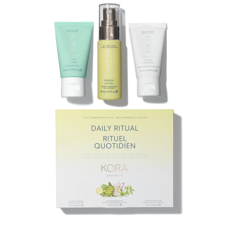 Daily Ritual Kit - Oily/Combination, , large