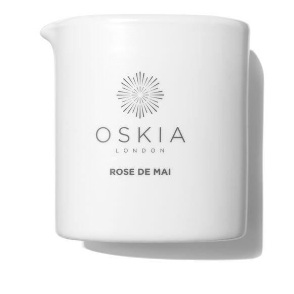 Rose de Mai Skin Smoothing Massage Candle, , large, image_1