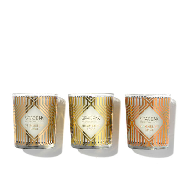 Space NK Shimmering Spice Candle Trio, , large, image2