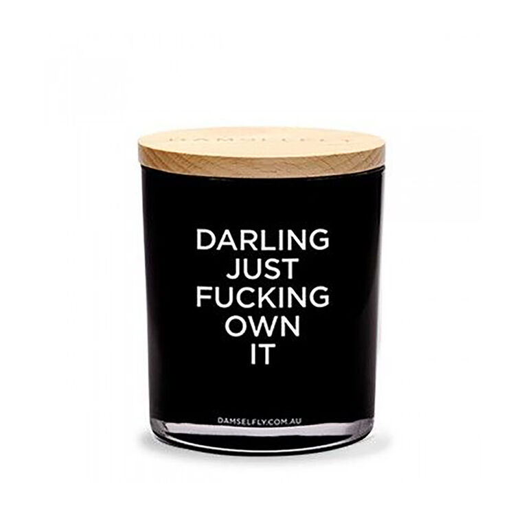 Darling Just Own It Candle, , large