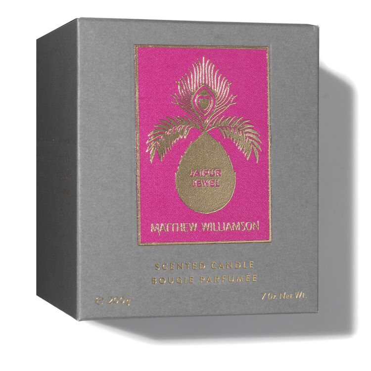 Jaipur Jewel Scented Candle 200g, , large