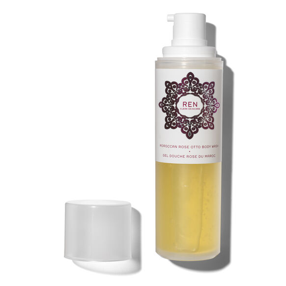 Moroccan Rose Otto Body Wash, , large, image2