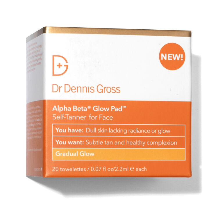 Alpha Beta Glow Pad Gradual Glow - 20 Application Packettes, , large