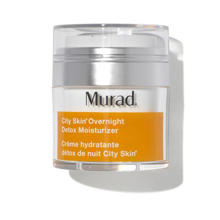 City Skin Overnight Detox Moisturiser, , large