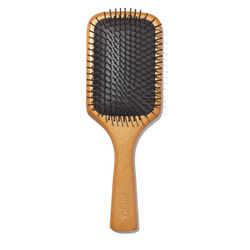 Wooden Hair Paddle Brush, , large