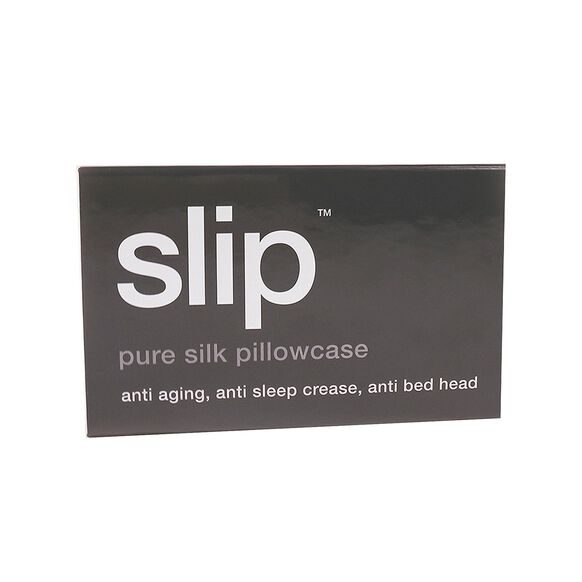 Silk Pillowcase - Queen Standard, CHARCOAL, large, image3