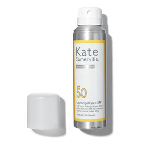 UncompliKated SPF 50 Soft Focus Makeup Setting Spray, , large