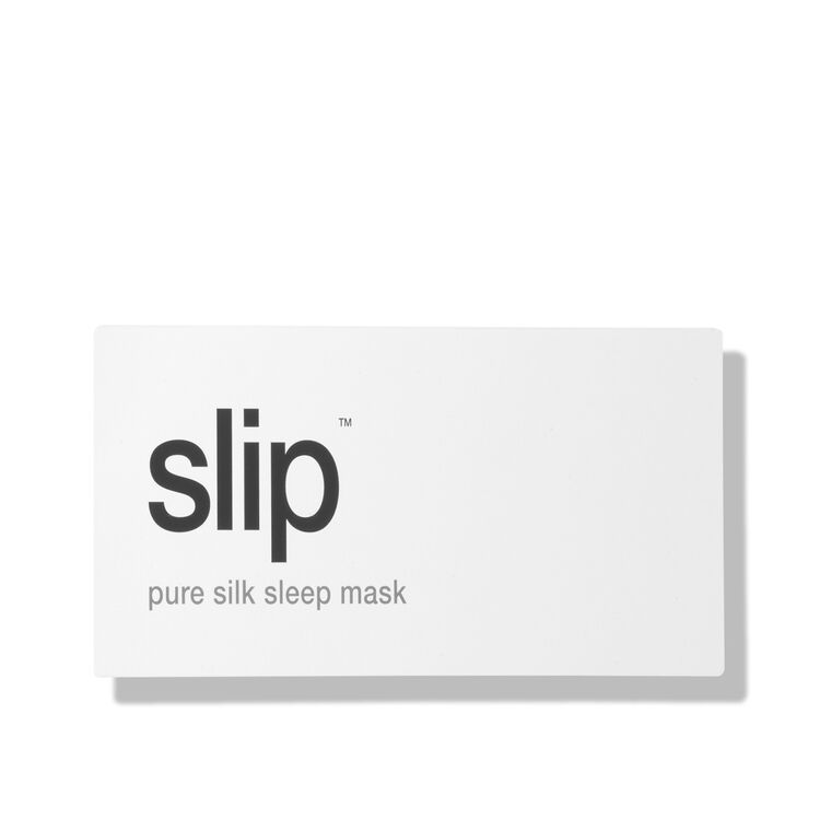 Silk Sleep Mask, WHITE, large