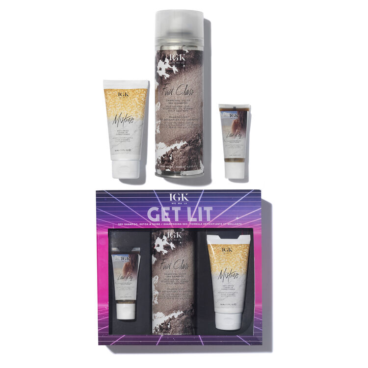 Get Lit Dry Shampoo, Detox & Shine, , large