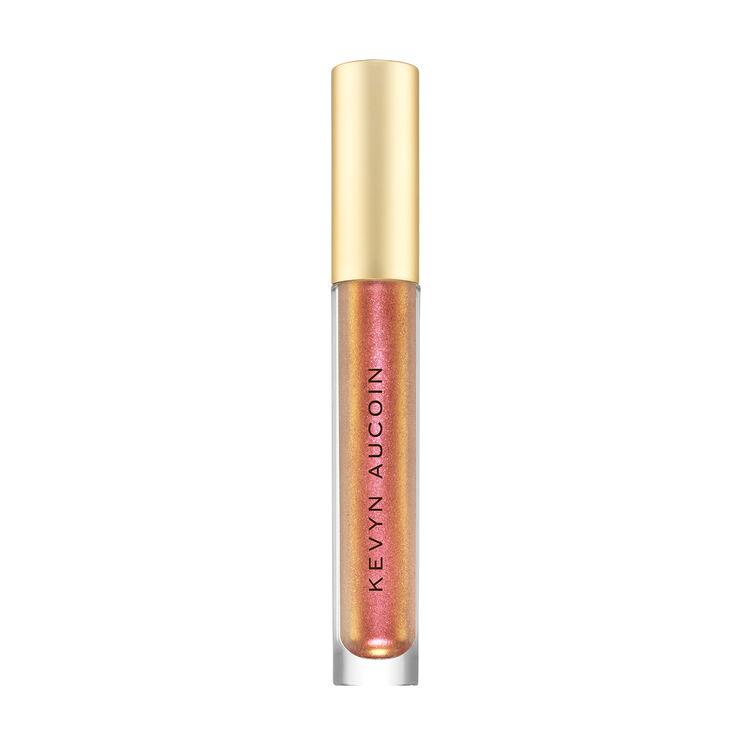 The Molten Gems Liquid Lipstick, FIRE AMBER, large