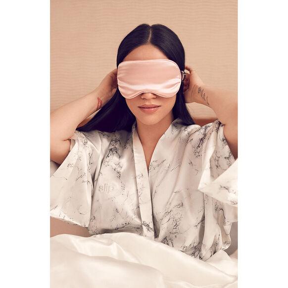 Silk Sleep Mask, PINK, large, image2