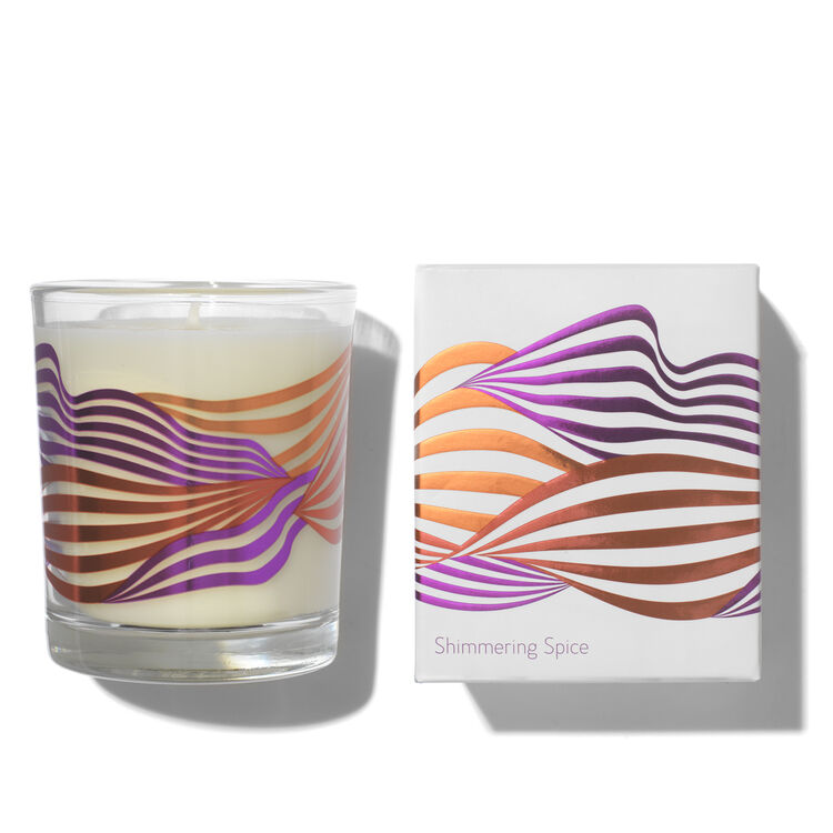 Shimmering Spice Candle, , large