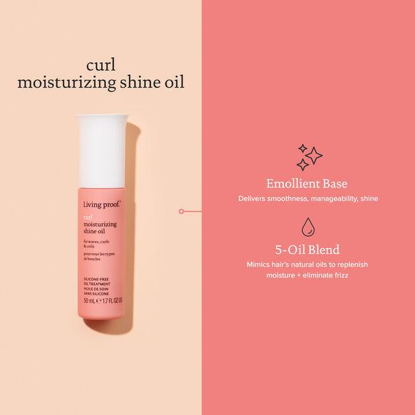 Curl Moisturizing Shine Oil, , large, image6