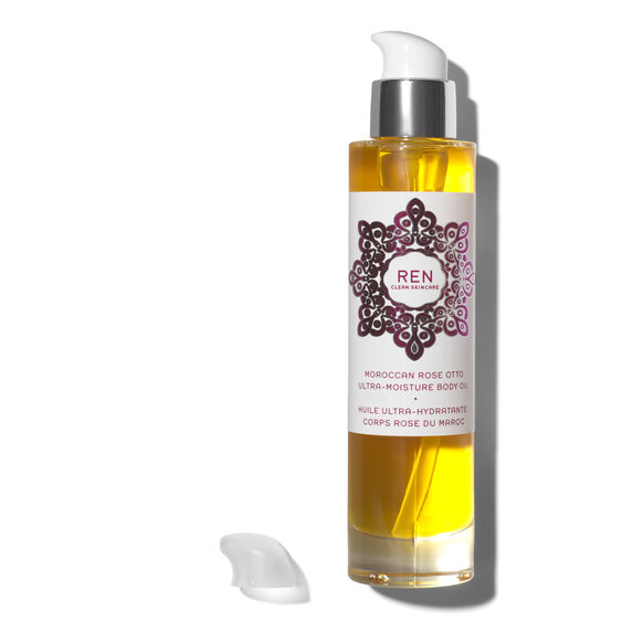 Moroccan Rose Otto Ultra-Moisture Body Oil, , large, image2