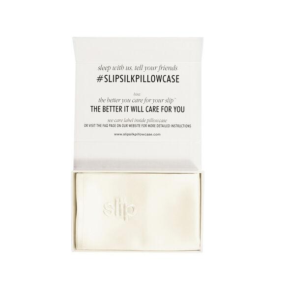 Silk Pillowcase - Queen Standard, WHITE, large, image2