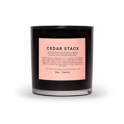 Cedar Stack Scented Candle, , large