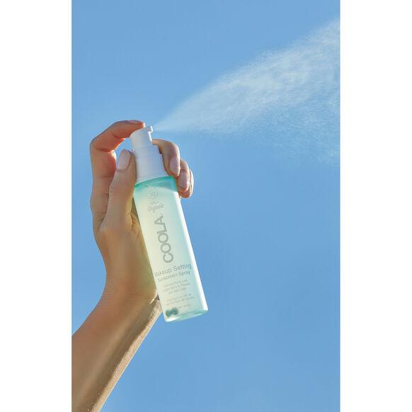 Makeup Setting Spray Organic Sunscreen SPF 30, , large, image3