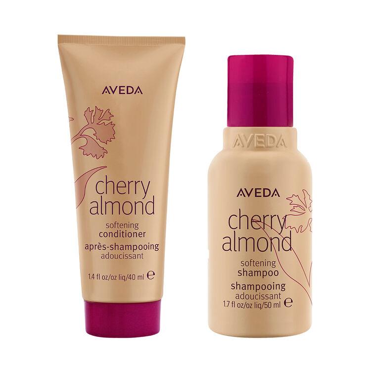 Cherry Almond Shampoo & Conditioner (2x40ml), , large