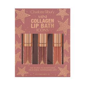 Mini Collagen Lip Bath Icons