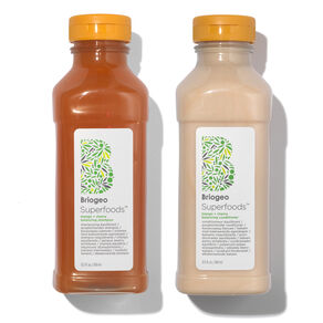 Superfoods Mango and Cherry Balancing Shampoo and Conditioner Duo